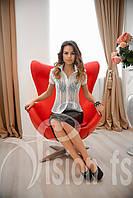 Стильная летняя блуза Анабель