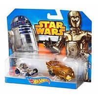 Набор Hot Wheels из 2-х машинок-героев серии Star Wars