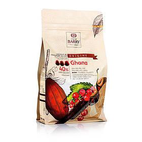 Cacao Barry Origine Ghana Какао Баррі Гана, Callets 1 кг  Какао Баррі Гана, 6х2,5 кг