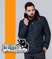 Braggart 1255 | Весенне-осенняя мужская ветровка темно-синий
