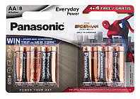Panasonic Батарейка Alkaline Power Sticker Spider Man AA/LR06 BL 8 шт