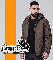 Braggart 1358 | Ветровка весенне-осенняя мужская коричневый