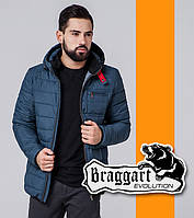 Braggart Evolution 1255 | Мужская ветровка темно-бирюзовая