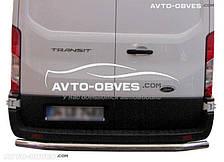 Защита заднего бампера Ford Transit 2014-..., Турция