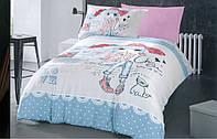 Детское постельное белье 150*220 хлопок (8753) TM KRISPOL Украина