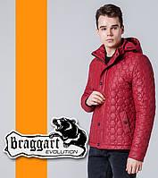 Braggart 1386   Ветровка мужская весенне-осенняя красный, фото 1