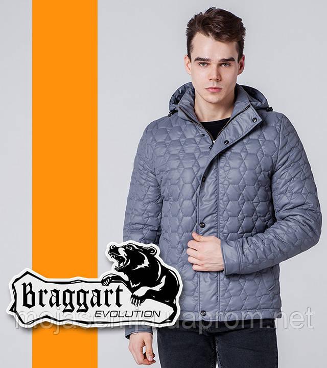Braggart 1386 | Ветровка весенне-осенняя серый