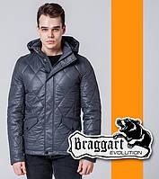 Braggart 1489 | Мужская ветровка весенне-осенняя т-серый, фото 1