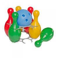 """Игрушка """"Набор для игры в боулинг ТехноК"""", арт. 2780, игровой набор, детский боулинг"""