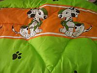 Одеяло и подушка (гипоалергенный силикон) Зеленый