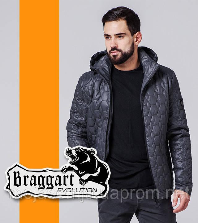 Braggart 1272 | Мужская ветровка весна-осень темно-серый