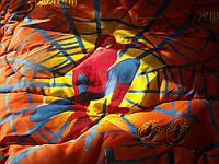 Одеяло и подушка (гипоалергенный силикон) Оранжевый