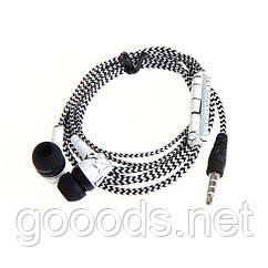 Вставные наушники с микрофоном, гарнитура для телефона