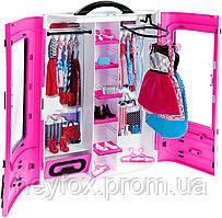 Шкаф-чемодан для одежды Barbie обновленный (DMT57)