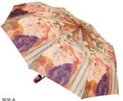 Женский складной зонт автомат (принт)