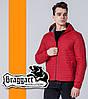 Braggart 1295 | Мужская ветровка красный