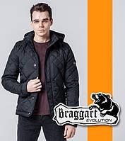 Braggart 1268   Стеганая ветровка черный, фото 1