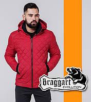 Braggart 1652 | Весенне-осенняя ветровка красный, фото 1