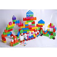 Набор конструктора 144 детали в пакете № 02-305, игровой набор, детский конструктор