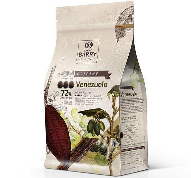 Cacao Barry Origine Venezuela / Какао Баррі Венесуела, Callets 6x1,0 кг