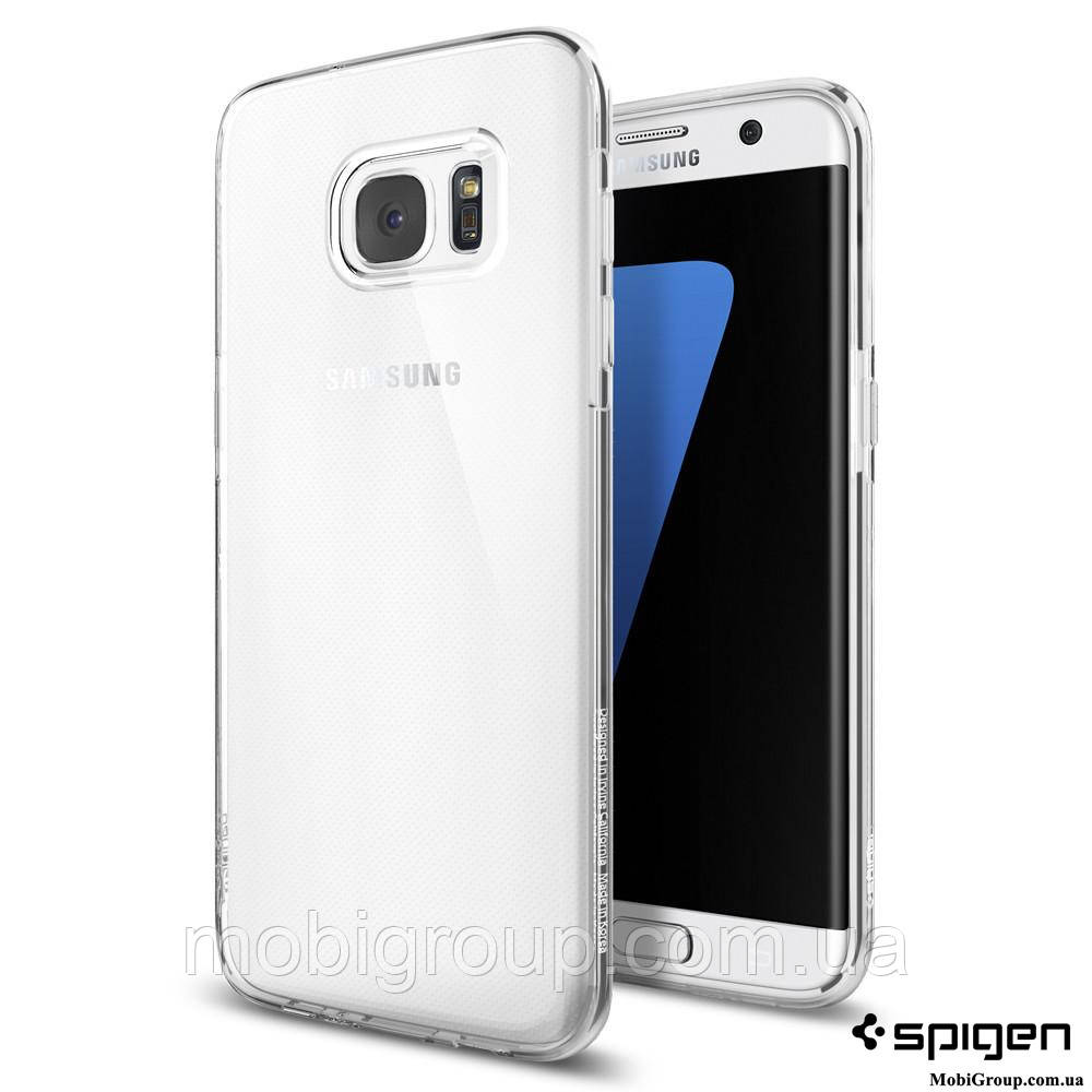 Чехол Spigen для Samsung S7 Edge Liquid Crystal