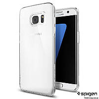 Чехол Spigen для Samsung S7 Edge Liquid Crystal , фото 1