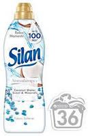 Кондиционер-ополаскиватель для белья Silan Coconut&water scent&minerals 925 ml