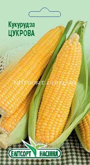 Семена кукуруза Сахарная 10г ТМ ЭлитСорт