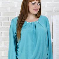 """Женская блуза большого размера  """"Ирис""""  52-62р., фото 1"""