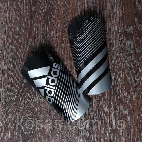 Щитки Adidas черные реплика