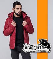 Braggart 1272 | Ветровка весна-осень мужская красный р. 54