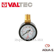 "Манометр с верхним подключением Valtec  D 40 мм (G 1/4"") 6 бар (VT.TM40.VC.02)"