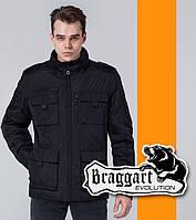 Braggart 3898 | Ветровка мужская весна-осень черный р. 48