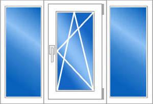 Окна пластиковые 2100*1400-Эконом