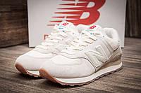 Женские кроссовки New Balance 574 Beige/White