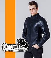 Braggart 1735   Ветровка весенне-осенняя мужская т-синий