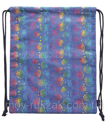 "Сумка - мешок Drawstring bag ""Bright owl"" YES 555417, фото 2"