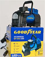 Компрессор Goodyear GY-35L LED 35л/м с фонорем, съёмн.ручкой,сумка для хранен.