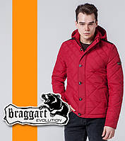 Braggart 1268 | Ветровка мужская стеганая красный р. 48 52