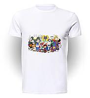 Футболка GeekLand Андертейл Undertale all the heroes UT.01.067