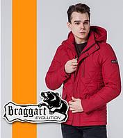 Braggart 1462   Мужская стеганая ветровка красный