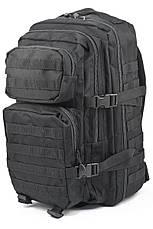 Штурмовой (тактический) рюкзак ASSAULT L Mil-Tec by Sturm Black 36 л. (14002202), фото 2