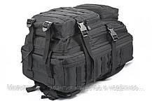 Штурмовой (тактический) рюкзак ASSAULT L Mil-Tec by Sturm Black 36 л. (14002202), фото 3