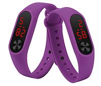 Фиолетовый браслет для Mi Band 2