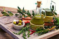 Масло оливковое и уксус