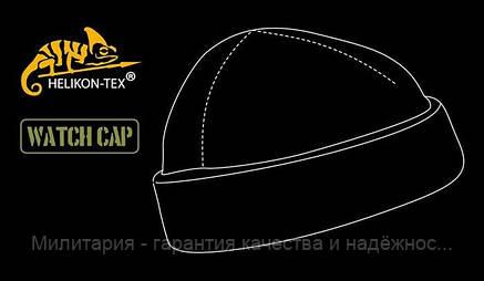 Шапка флисовая (под шлём) Helikon Watch Cap Black (CZ-DOK-FL-01), фото 2
