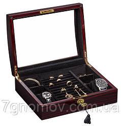 Шкатулка для хранения часов и украшений Rothenschild RS-3034-EB
