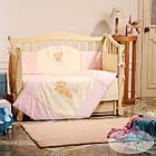 Комплект детского постельного белья Tiny Love 7 пр розовый, фото 8