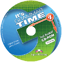 It's Grammar Time 4 Test Booklet CD-ROM