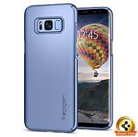 Чехол Spigen для Samsung S8 Plus Thin Fit, Blue Coral, фото 1